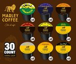 30-count-Marley-Coffee-Single-serve-Variety-Pack-for-Keurig-K-cup-Brewers-0