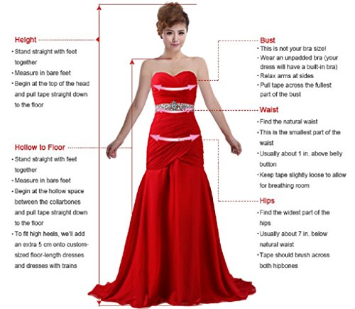 ANTS Women\'s Pretty Ball Gown Quinceanera Dress Ruffle Prom Dresses ...