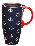 Blue-and-White-Anchors-Ceramic-Travel-Coffee-Mug-0