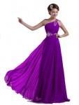 DLFASHION-One-shoulder-Floor-Length-Beaded-Chiffon-Prom-Dress-M-8-Purple-0