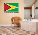 Decal-Vinyl-Wall-Sticker-Co-Operative-Republic-Of-Guyana-Flag-Country-Pride-Symbol-Sign-Banner-Emblem-Home-Decor-Boys-Girls-Dorm-Room-Bedroom-Living-Room-Peel-Stick-Picture-Art-Graphic-Design-Car-Wind-0