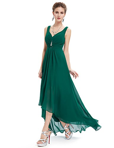 Ever pretty womens high low dress 16 us green love my for High low wedding guest dresses