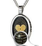 Love-Necklace-Inscribed-in-120-Languages-in-24kt-Gold-Gift-for-Her-Romantic-Anniversary-Gift-In-Silver-0