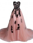 Lowime-Womens-Sweetheart-Tulle-Prom-Dress-Appliques-Long-Party-Gown-Size-20W-US-Pink-0