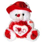 Musical-I-Love-You-Teddy-Bear-with-Red-Hat-11-Plays-The-Love-Song-Best-Valentines-Day-Gifts-Valentines-Day-Gifts-for-Her-Valentines-Day-Gifts-for-Him-Valentines-Day-Gifts-for-Girlfriend-Valentines-Day-0