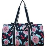 Sea-Turtle-Anchor-Print-Gym-Travel-Dance-Cheer-Baby-Duffle-Bag-0