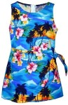 Sunset-Palm-Hawaiian-Dress-Girls-Hawaiian-Dress-Aloha-Dress-Hawaiian-Clothing-100-Cotton-Blue-10-0