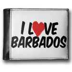 Wallet-I-Love-Barbados-RFID-Mens-Bifold-ID-Case-Neonblond-0