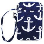 White-Anchors-Print-Quilted-Wristlet-Wallet-0